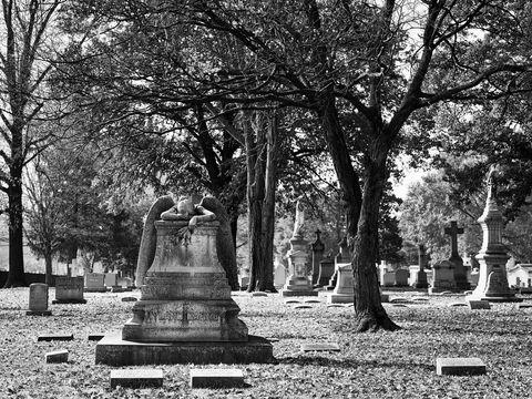 architecture, WORLD REGIONS & COUNTRIES, North America, United States of America, Missouri, St. Louis, Calvary Cemetery, landscape, cemetery, sculpture