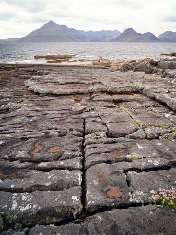 WORLD REGIONS & COUNTRIES, Europe, United Kingdom, Scotland, Isle of Skye, concepts, abandoned, architecture, building materials, marble stone, environment, scenery, land, rural landscape, rural, rock