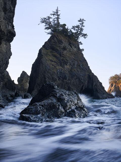 WORLD REGIONS & COUNTRIES, North America, United States of America, Oregon, IMAGE/COLOR/STYLE/FORMAT, BW/COLOR, color, environment, scenery, land, landscape, coast, coastal, coastline, IPTC-SUBJECT, 0