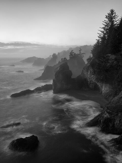 WORLD REGIONS & COUNTRIES, North America, United States of America, Oregon, Thunder Rock Cove, environment, scenery, land, landscape...