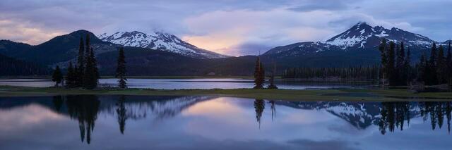 America, ecology, ecosystem, environment, environmentalism, lake, nature, North America, Oregon, scenery, Sparks Lake, U.S....