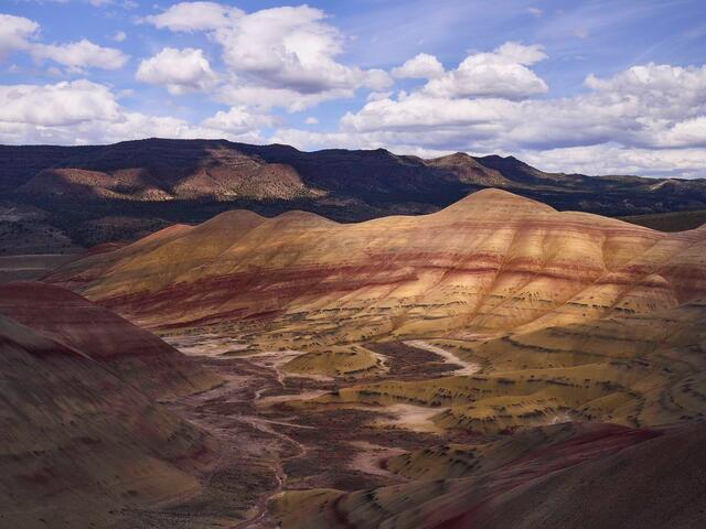 America, desert, ecology, ecosystem, environment, environmentalism, land, nature, North America, Oregon, Painted Hills, scenery...