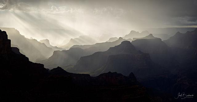 Yavapai Point, Yavapai, Grand Canyon, Grand Canyon National Park, Arizona, sunset