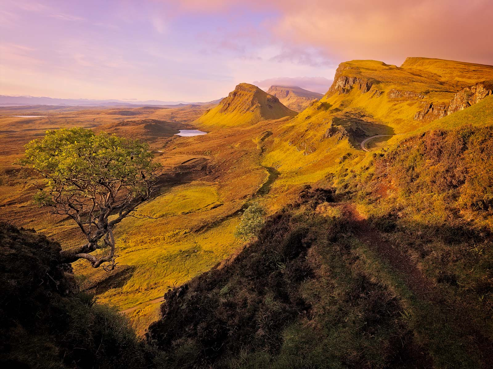WORLD REGIONS & COUNTRIES, Europe, United Kingdom, Scotland, Isle of Skye, Quiraing, environment, scenery, land, cliff, landscape...